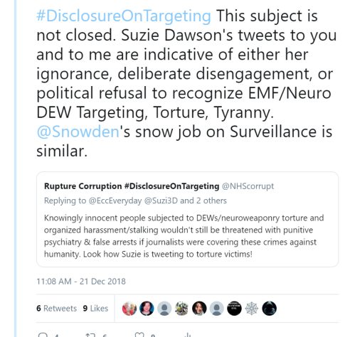 ae335b703 ... Cassandra, whose page on Twitter features Julian Assange, and the  hashtags #ReConnectJulian and #TargetedLikeJulianAndWorse has worked  diligently online ...