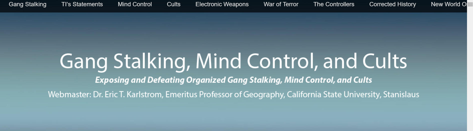 gangstalking | The EveryDay Concerned Citizen