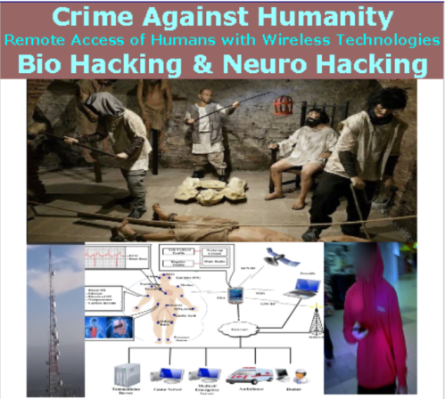 Public Notice: The Remote Access of Human Beings is a Crime Against Humanity