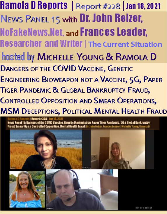 Youtube and Twitter Remove Videos, Tweets Exposing Grave Dangers of the mRNA COVID Vaccine Rad228newspanel15cover-1