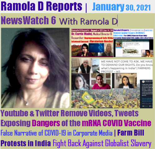 Youtube and Twitter Remove Videos, Tweets Exposing Grave Dangers of the mRNA COVID Vaccine Radnewswatch6cover-1